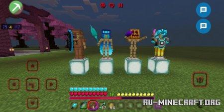 Скачать Fantasy Fight для Minecraft PE 1.17