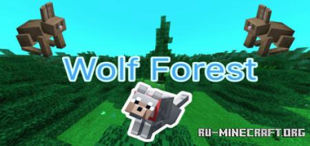 Скачать Wolf Forest Roleplay для Minecraft PE