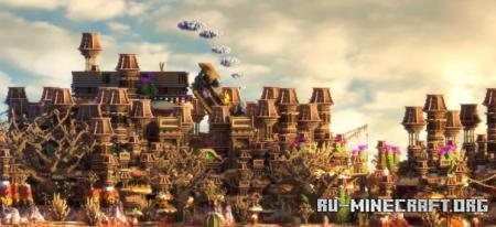 Скачать Western Faction Spawn для Minecraft