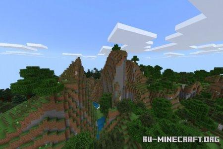 Скачать Amplified World Addon для Minecraft PE 1.16