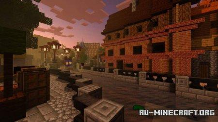 Скачать Hyra Shaders для Minecraft PE 1.17