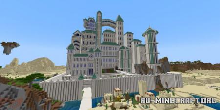 Скачать Whitehaven Palace для Minecraft