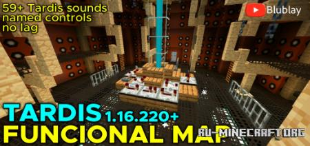 Скачать Blublay Tardis для Minecraft PE