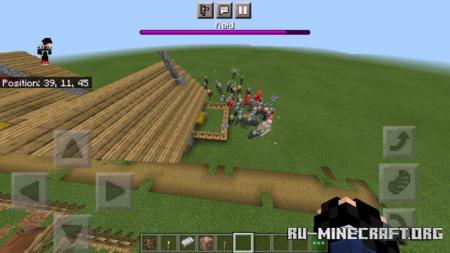 Скачать Hard Pillage (Cowbow Update) для Minecraft PE 1.17