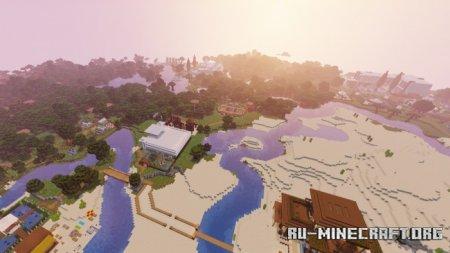 Скачать Special Modern House (Expansion) by Rizzz для Minecraft PE