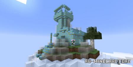 Скачать Terrarian Floating Islands для Minecraft 1.16.5
