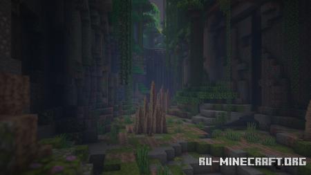 Скачать Overgrown PvP by DoctorChosen для Minecraft