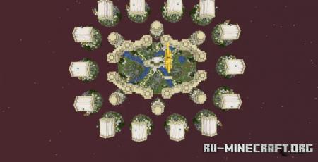 Скачать Greek Skywars Map для Minecraft