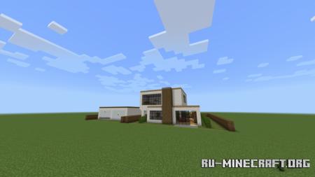 Скачать Luxury Mansion by Frewap для Minecraft PE