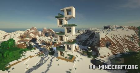Скачать 6-Story Cube Apartment для Minecraft