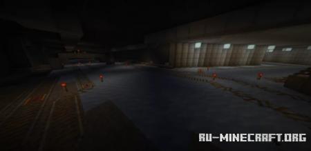 Скачать Midgar (Ice Boat Track) для Minecraft