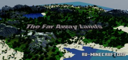 Скачать The Far Away Lands для Minecraft PE