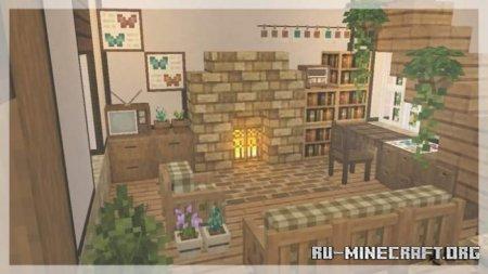 Скачать Hananacraft для Minecraft PE 1.17