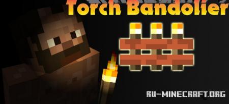 Скачать Torch Bandolier для Minecraft 1.17.1