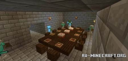 Скачать Stronghold Survival для Minecraft