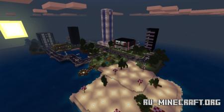 Скачать Island City (Map) для Minecraft PE
