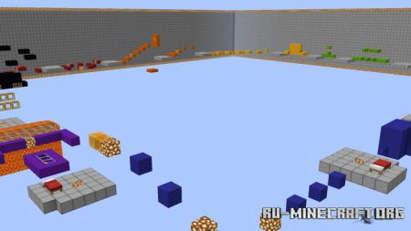 Скачать Epic Parkour by Vinti747 для Minecraft PE