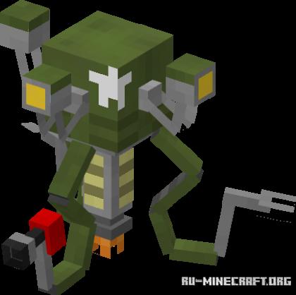 Скачать Mister Gutsy Blaze для Minecraft 1.17