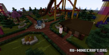 Скачать Twiceland (Theme Park) для Minecraft
