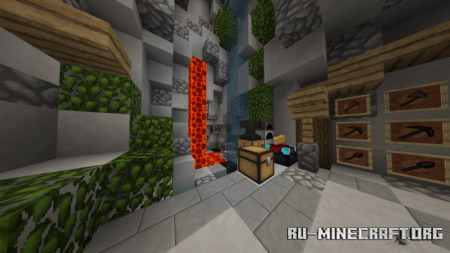Скачать Outbreak PvP Pack для Minecraft PE 1.17