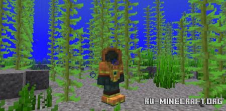 Скачать Scuba Gear для Minecraft 1.17.1