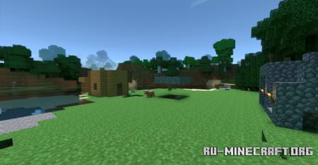 Скачать Typical Survival World для Minecraft PE