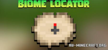 Скачать Biome Locator для Minecraft 1.17.1
