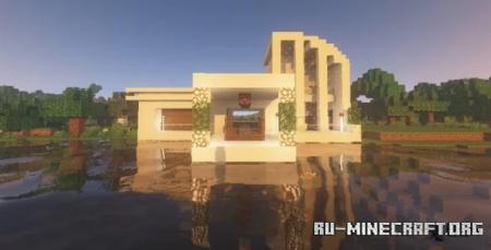 Скачать Lakeside Modern House для Minecraft