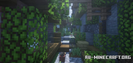 Скачать The Ruins of Cyandelta для Minecraft