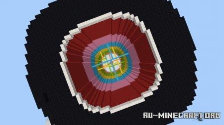 Скачать Rainbow Surf Parkour для Minecraft PE