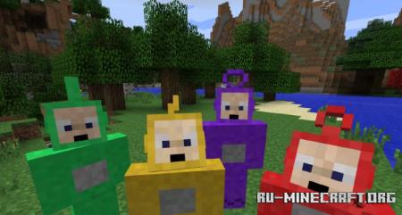 Скачать Teletubbie для Minecraft 1.17.1