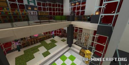 Скачать Nether House by Little_Gator для Minecraft