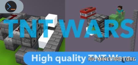 Скачать TNT Wars by Chrome Villager для Minecraft PE
