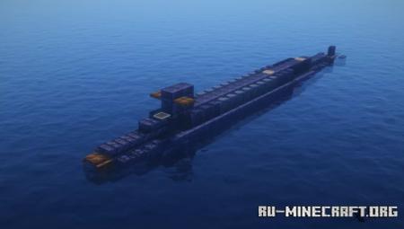 Скачать Ohio Class Submarine для Minecraft