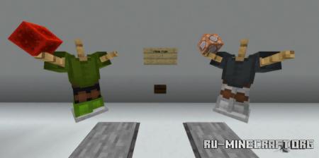 Скачать Parkour Noob VS Hacker для Minecraft PE