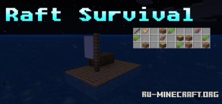 Скачать Raft Survival by OceanC для Minecraft PE