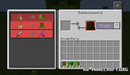 Скачать Bamboopeople V4 для Minecraft PE 1.17