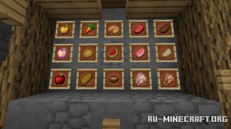 Скачать Bloodthirst [16x16] для Minecraft PE 1.17