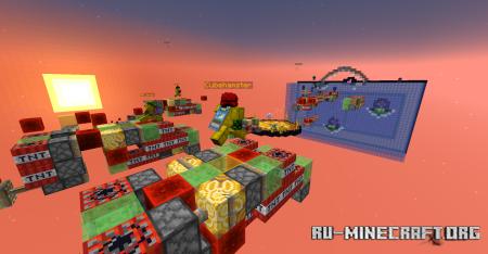 Скачать Rocket Riders для Minecraft