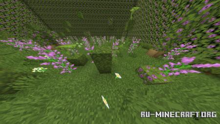 Скачать Caves and Cliffs Parkour для Minecraft PE