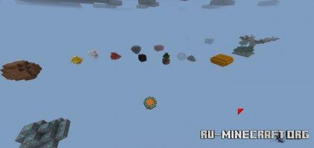 Скачать Floating Island Crazy для Minecraft PE