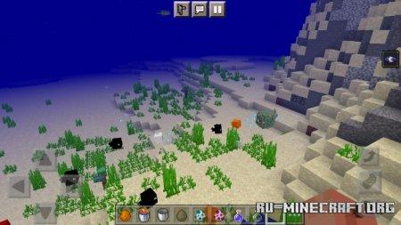 Скачать Goldfish (and Flishes) для Minecraft PE 1.17