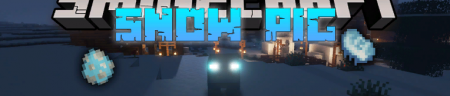 Скачать Snow Pig для Minecraft 1.17.1