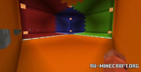 Скачать Bow Fight 1v1v1v1 для Minecraft