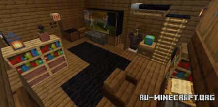 Скачать The New Home - Escape Room для Minecraft