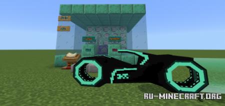 Скачать Tron Light Cycle Addon V2 для Minecraft PE 1.17