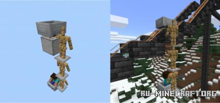 Скачать Cable Car для Minecraft PE 1.17