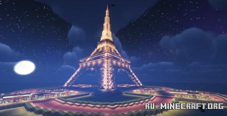 Скачать Eiffel Tower by KaosRP2 для Minecraft
