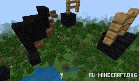 Скачать Easy-Hard Levels Parkour для Minecraft PE