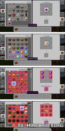 Скачать MMO Aspects для Minecraft PE 1.17